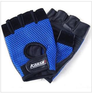 Blue & Black Anti-Foul Windproof Sports Gloves