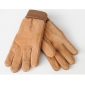 Winter Men's Cold Resistant Riding Leather Gloves