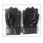 Half Finger Black Wearable Sports Gloves