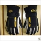 Black & Yellow Thicken Finger Motorcycle Gloves