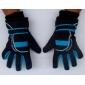 Blue & Black Anti-slip Thicken Motorcycle Gloves