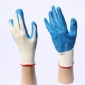 Blue White Wearable Labor Protection Work Gloves
