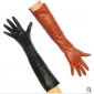 Super Long Fine Leather Cold Resistant Winter Gloves